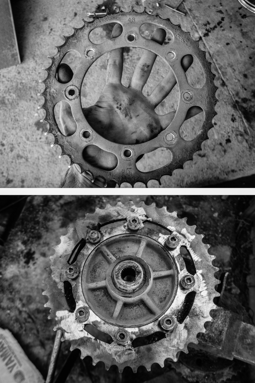 Peru: Old Sprocket and New Franken-Sprocket